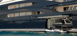 Tendergarage Superyacht - Foto: WEB