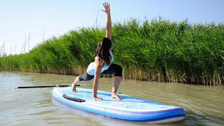 Fitness durch Stand Up Paddling - SUP Yoga & Training auf dem Board </02.14>