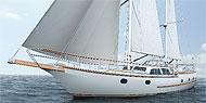 Farmont 'Marleen' - a ketch made of E-glass</02.10>