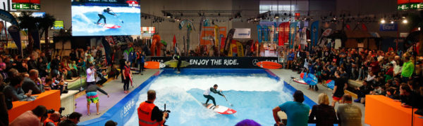 Beach World und THE WAVE auf der boot 2019 in Halle 8a - Foto: © Messe Düsseldorf, ctillmann