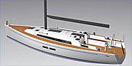 Grand Soleil 39 - new model with twin wheel steering