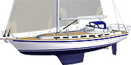 Malö 47 - strong and comfortable long distance yacht</01.11>