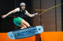 Halle 8a - Wakeboarden in der Beach World - Foto: © Messe Düsseldorf / ctillmann