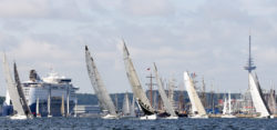 Kieler Woche - Welcome Race Start - Foto: © CB segel-bilder.de