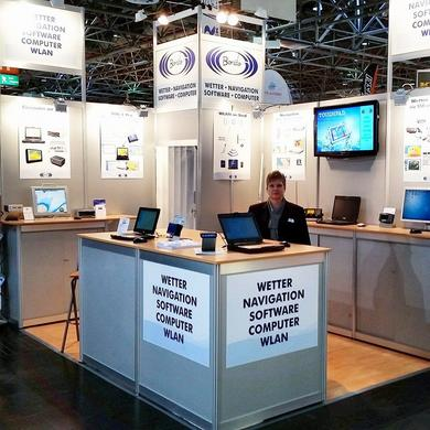 Bonito Messestand Boot Düsseldorf 2015