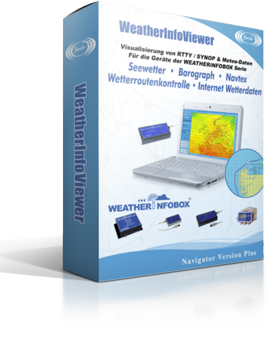 Bonito WeatherInfoViewer Software für Ihre Wetterinfobox