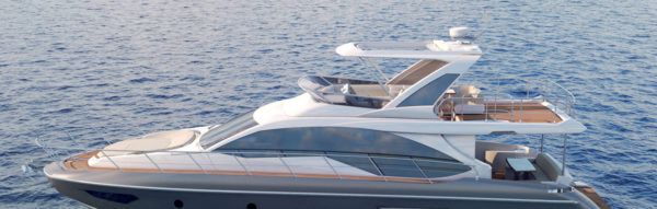 Azimut 55 fly weltpremiere auf der boot 2018 boot for Innenarchitekt yacht