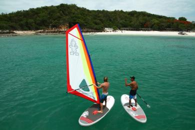 Weltneuheit Starboard inflatable WindSUP