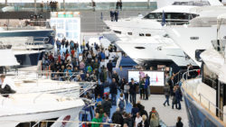 Superyachten in Halle 6 der boot / Foto: © MD, ctillmann
