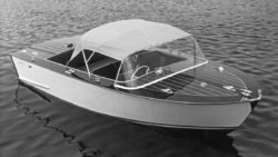 Frauscher Elektromotorboot Delphin 1967 / (c) Frauscher Boats