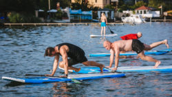 SUP-Power - Fitness-Workout auf dem Board / Foto: Nalani SUP-Surfing