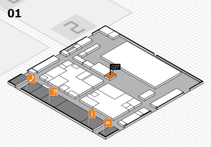 boot 2017 hall map (Hall 1): stand C27