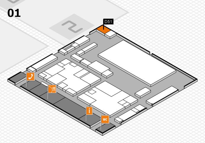 boot 2017 hall map (Hall 1): stand D51