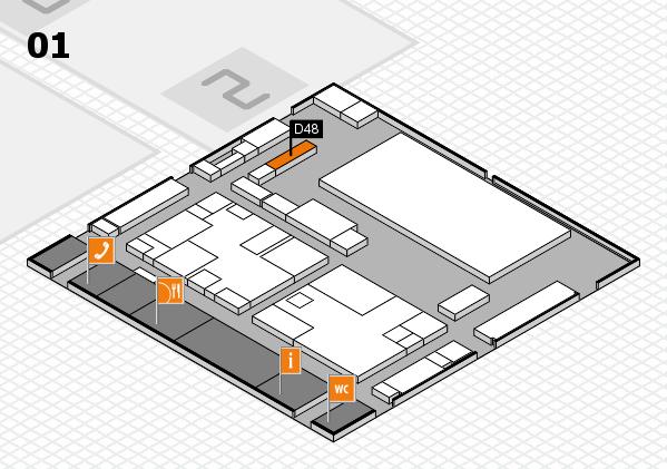 boot 2017 hall map (Hall 1): stand D48