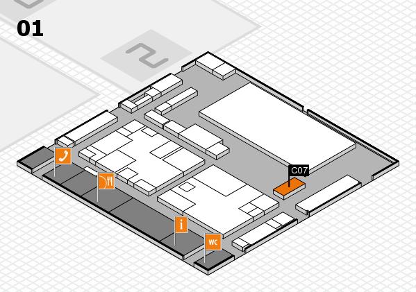 boot 2017 hall map (Hall 1): stand C07