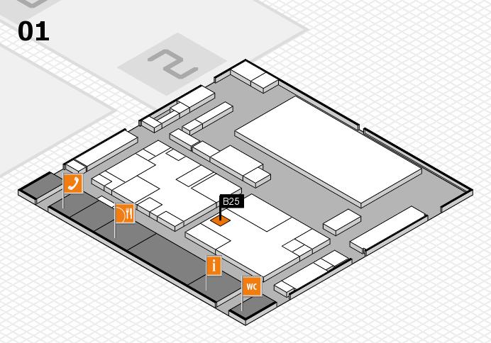 boot 2017 hall map (Hall 1): stand B25