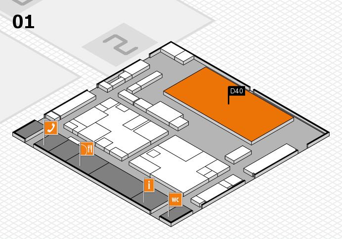 boot 2017 hall map (Hall 1): stand D40