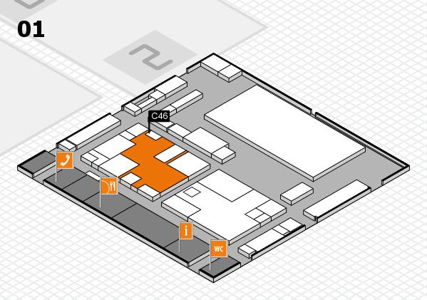 boot 2017 hall map (Hall 1): stand C46