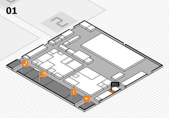 boot 2017 hall map (Hall 1): stand B02