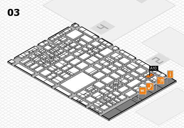 boot 2017 hall map (Hall 3): stand A10