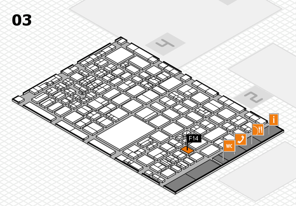 boot 2017 hall map (Hall 3): stand F14