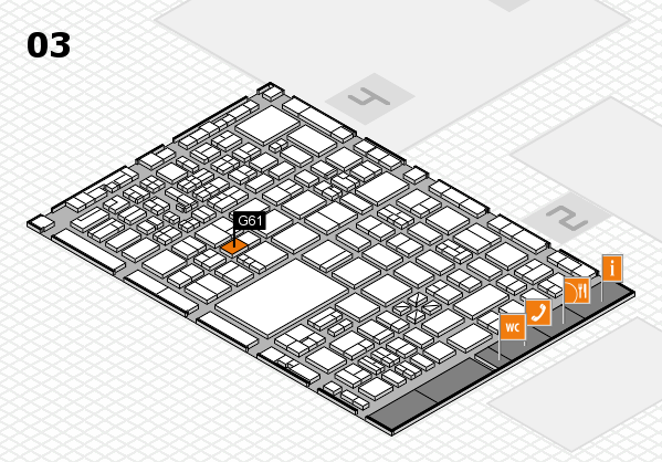 boot 2017 hall map (Hall 3): stand G61