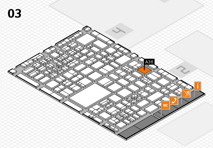 boot 2017 hall map (Hall 3): stand A36