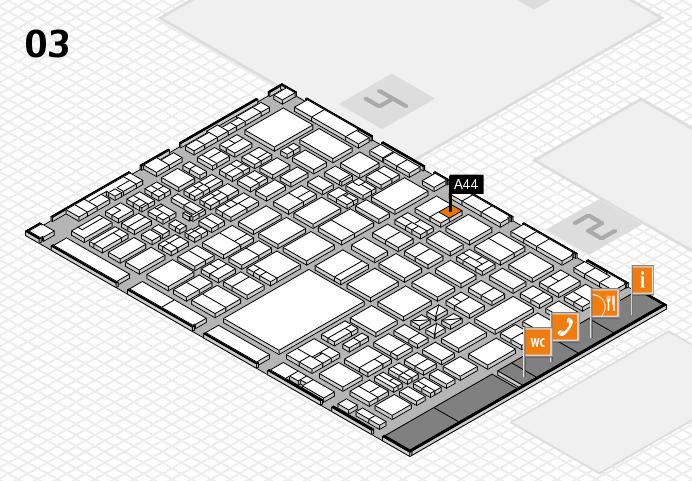 boot 2017 Hallenplan (Halle 3): Stand A44