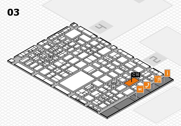 boot 2017 hall map (Hall 3): stand C16
