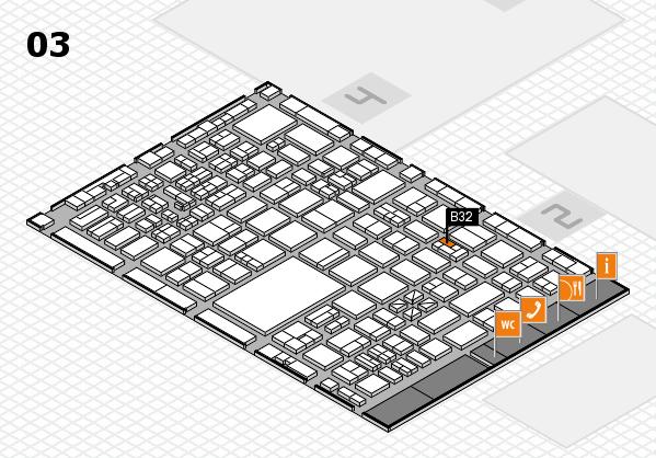 boot 2017 hall map (Hall 3): stand B32