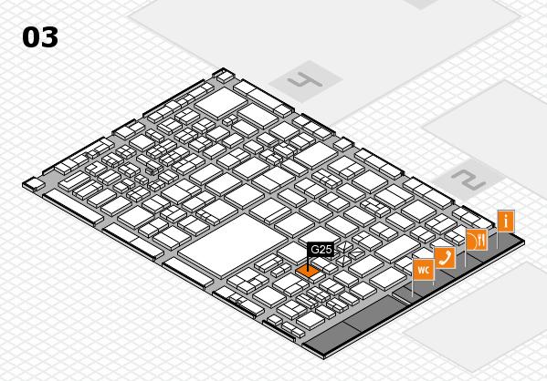 boot 2017 hall map (Hall 3): stand G25