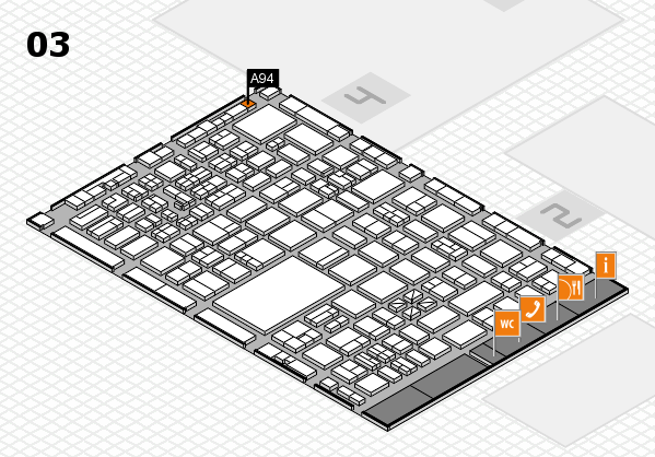 boot 2017 hall map (Hall 3): stand A94