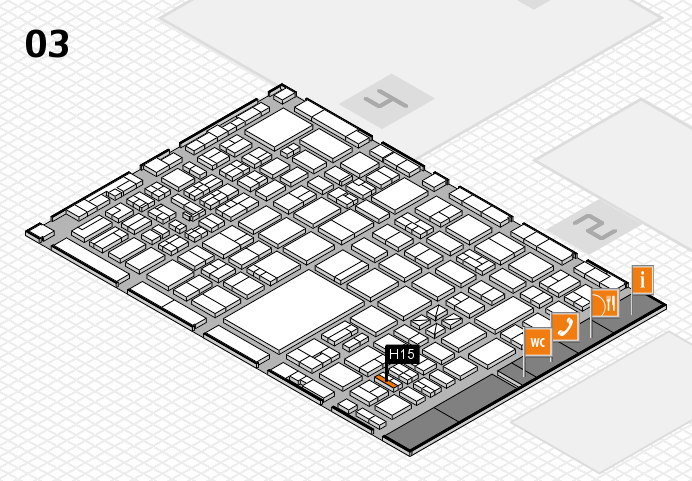 boot 2017 hall map (Hall 3): stand H15