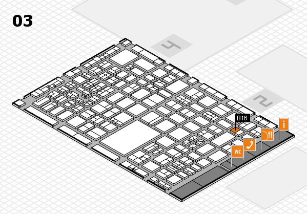 boot 2017 hall map (Hall 3): stand B16