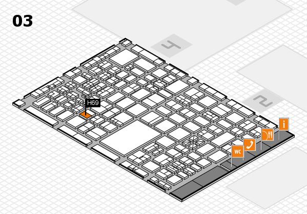 boot 2017 hall map (Hall 3): stand H69