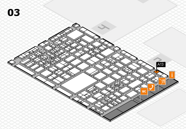 boot 2017 hall map (Hall 3): stand A13