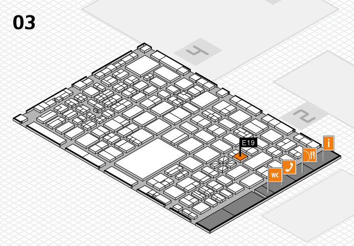 boot 2017 hall map (Hall 3): stand E19