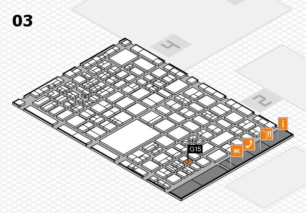 boot 2017 hall map (Hall 3): stand G15
