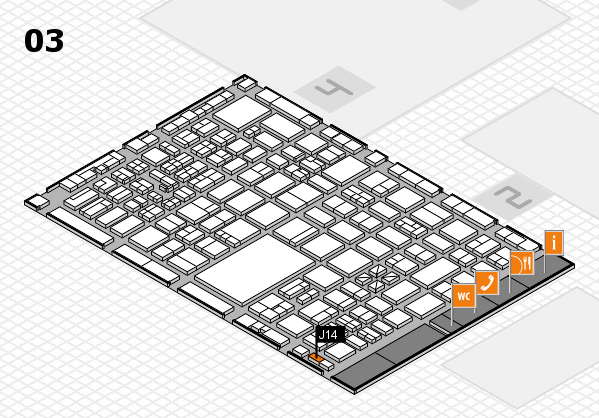 boot 2017 hall map (Hall 3): stand J14