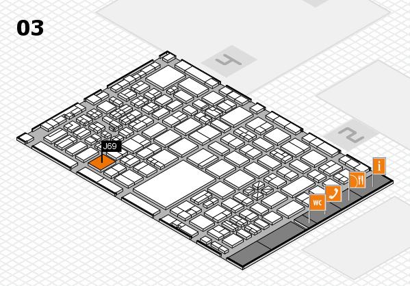boot 2017 hall map (Hall 3): stand J69