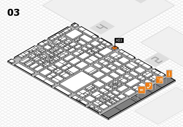 boot 2017 hall map (Hall 3): stand A53