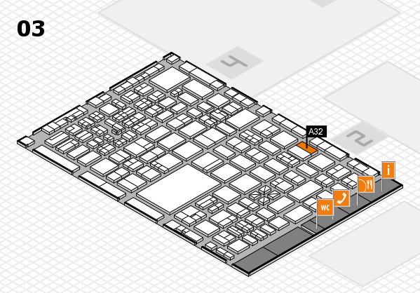 boot 2017 hall map (Hall 3): stand A32