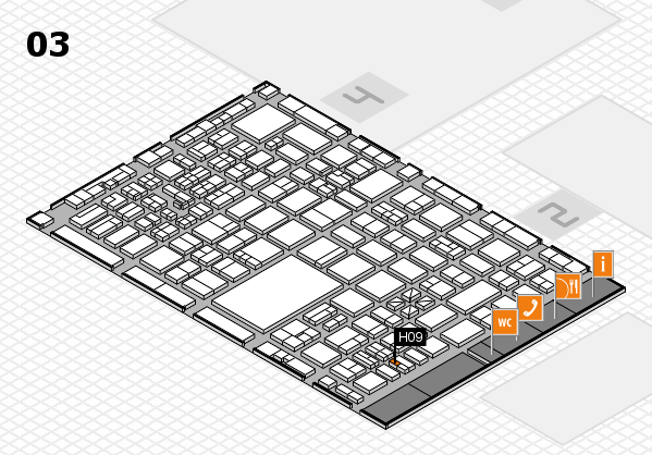 boot 2017 hall map (Hall 3): stand H09