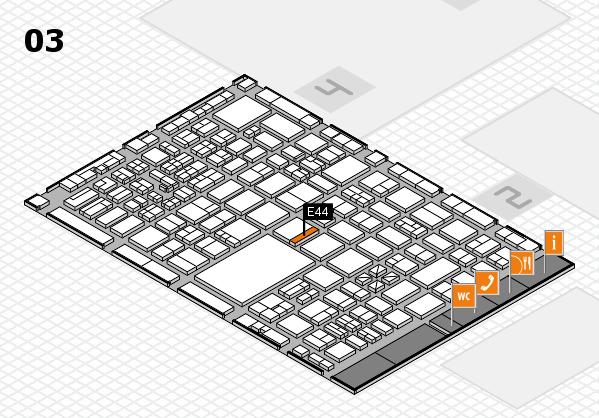 boot 2017 hall map (Hall 3): stand E44