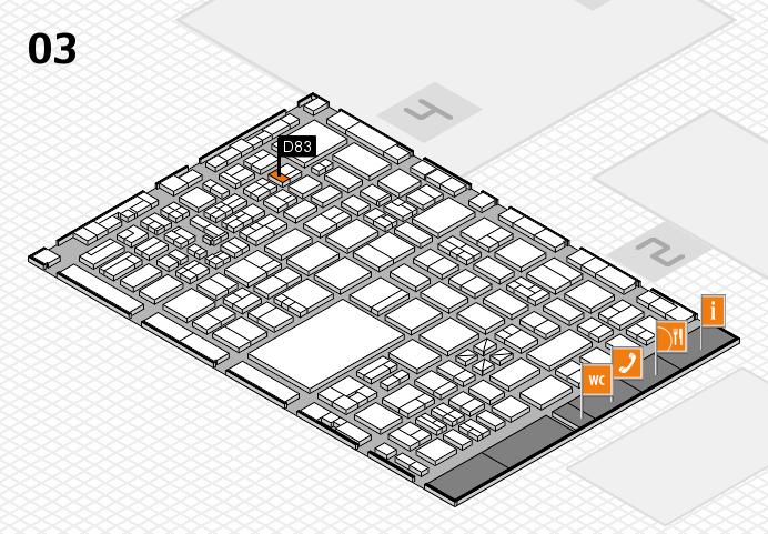 boot 2017 hall map (Hall 3): stand D83