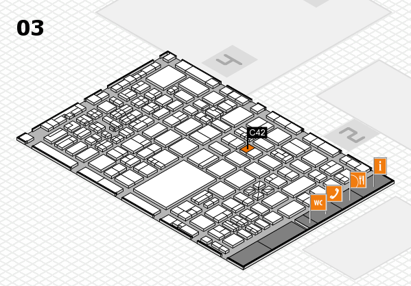 boot 2017 hall map (Hall 3): stand C42