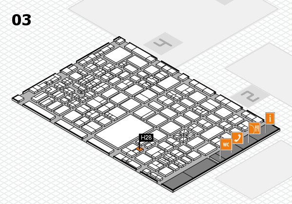 boot 2017 hall map (Hall 3): stand H28