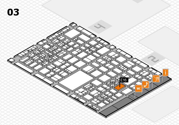 boot 2017 hall map (Hall 3): stand E16