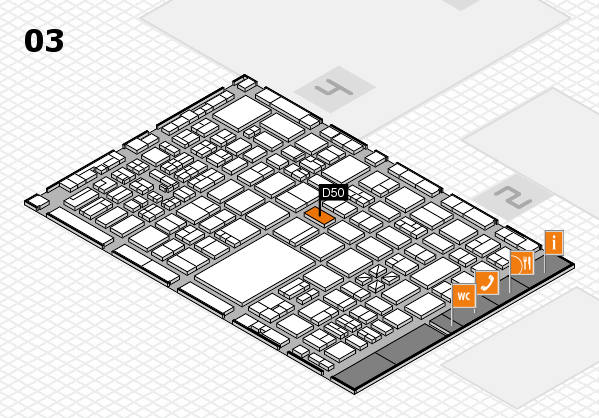 boot 2017 hall map (Hall 3): stand D50