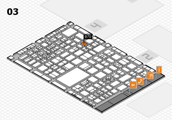 boot 2017 hall map (Hall 3): stand B70